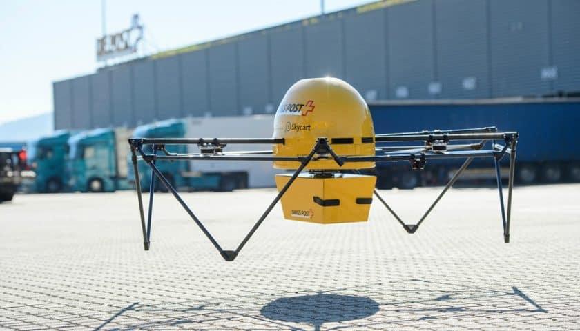 Drone medico in Svizzera nuove sperimentazioni