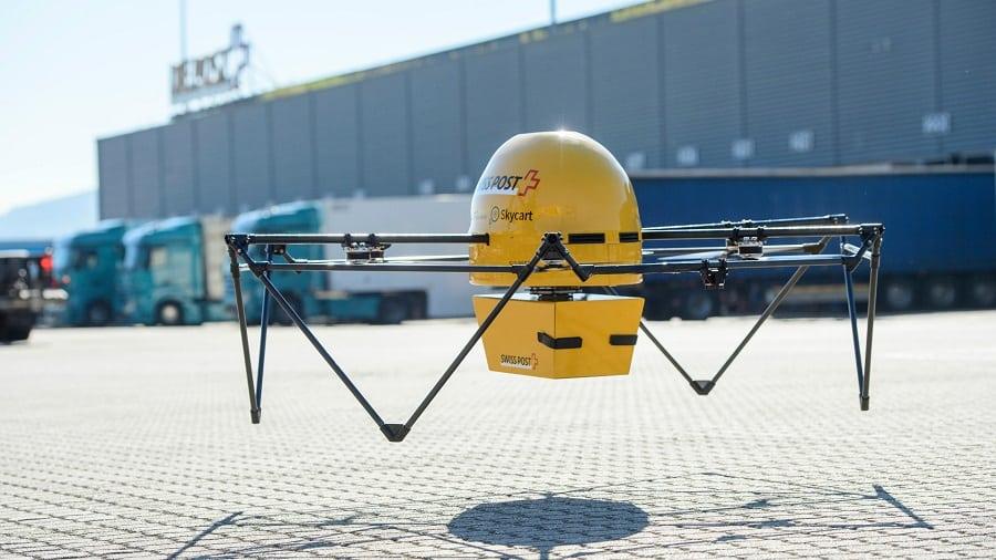 Drone medico in Svizzera, Drone medico,