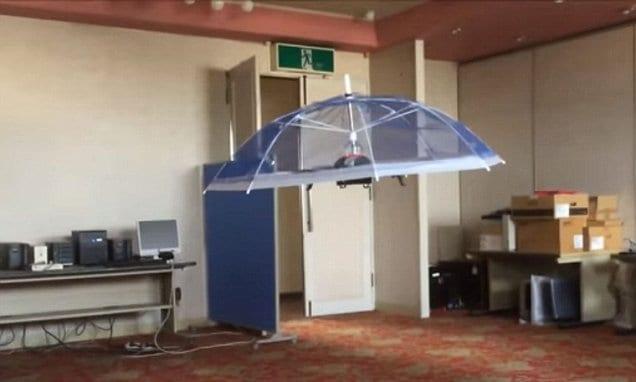drone ombrello