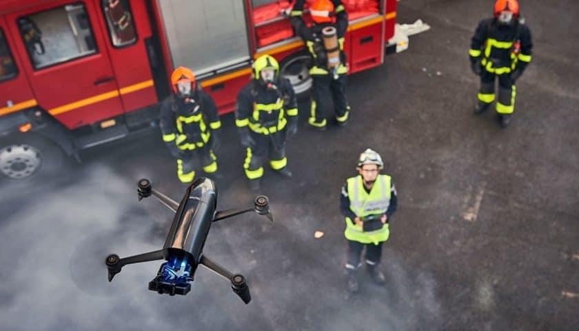 Droni per la pubblica sicurezza