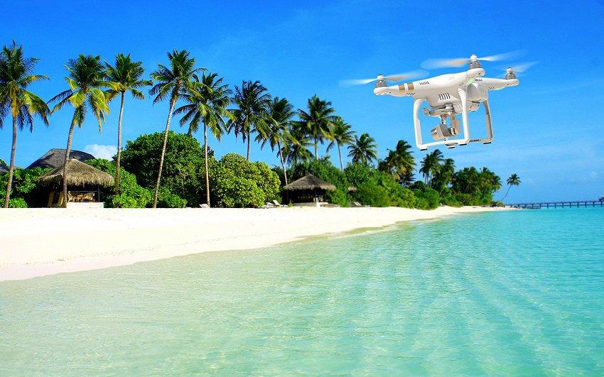 Droni in spiaggia in Sardegna, Droni in spiaggia,