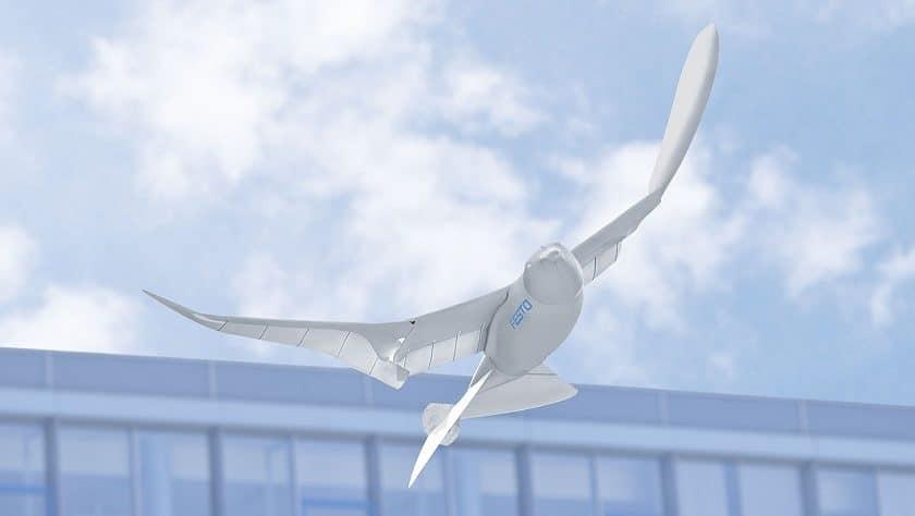 Droni per il controllo del territorio a forma di uccello