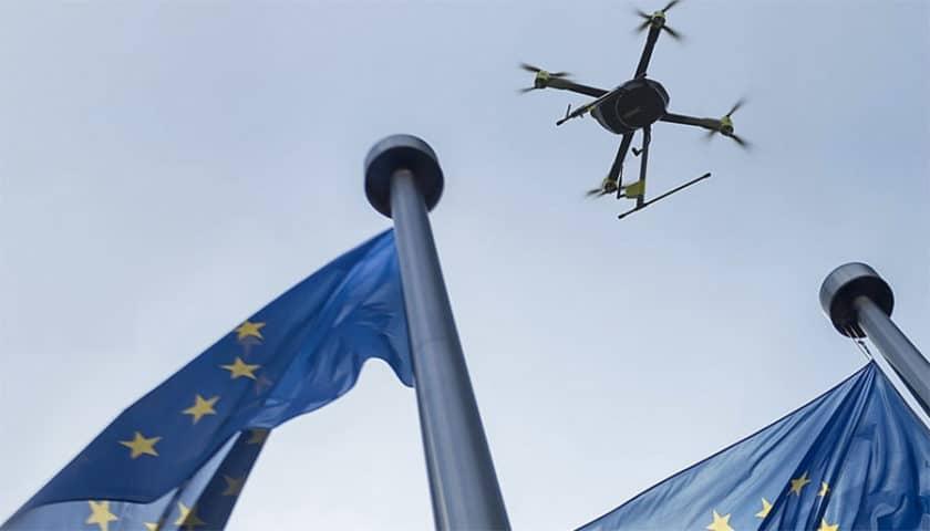 Regolamento unico europeo per i droni