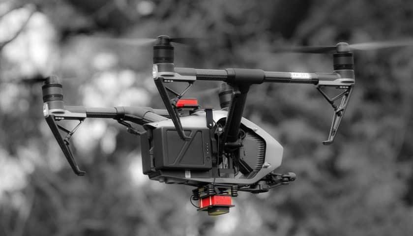 Droni e rilievi del verde urbano in Brianza