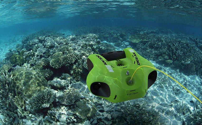 Droni per il controllo delle acque