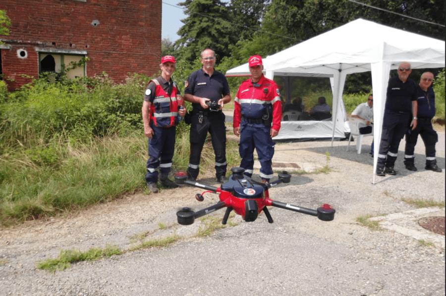 drone associazione nazionale carabinieri