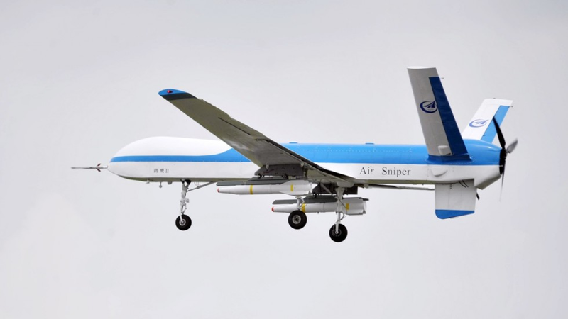 Il drone cinese Yaoying II al suo primo volo