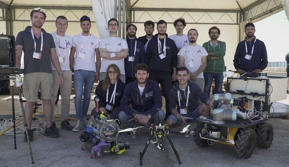 Drone subacqueo dell'Università di Firenze