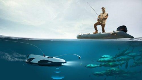Il drone subacqueo Powerray sponsor di Shark Week