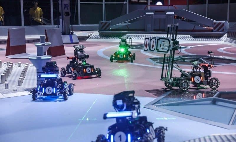 RoboMaster concorso annuale di robotica e droni