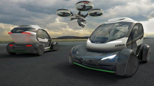 Auto Drone Pop Up di Airbus e Italdesign