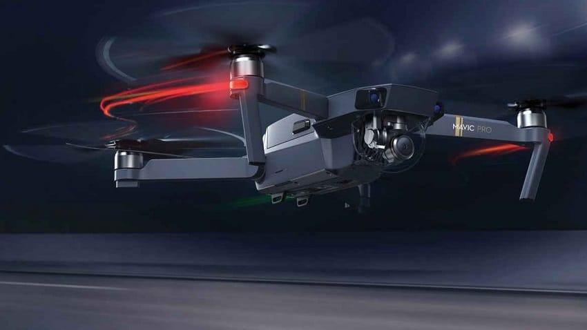 Presentazione del drone Dji Mavic 2