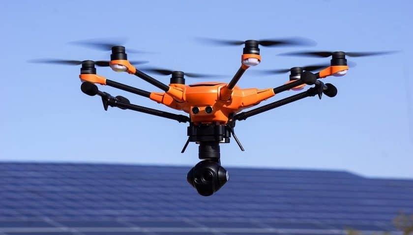 Droni monitoraggio rifiuti a Ghedi