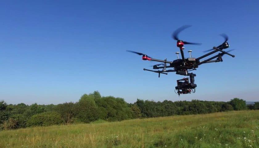 Agricoltura di precisione con droni sui vigneti di Verona