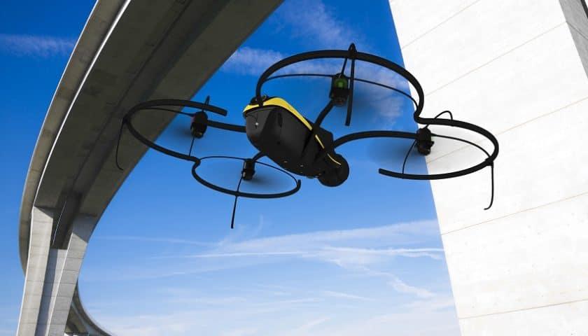 Controllo Ponti con droni in Provincia di La Spezia