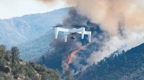 Drone con una autonomia di volo di due ore