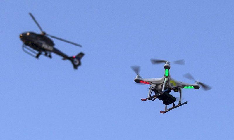 Drone non autorizzato in volo a Courmayeur