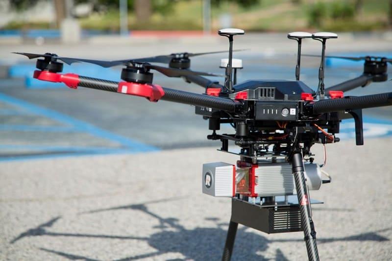 Droni e laser scanner