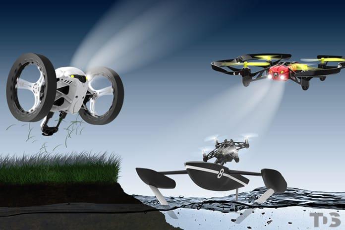 Droni Parrot per Hobby e Professione