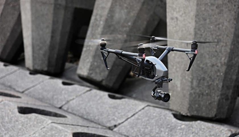 Droni per il monitoraggio di edifici storici