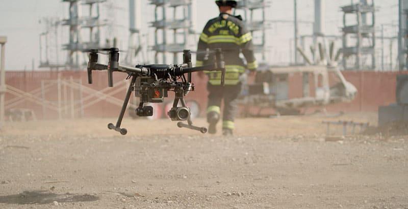 Droni per sicurezza e pubbliche emergenze
