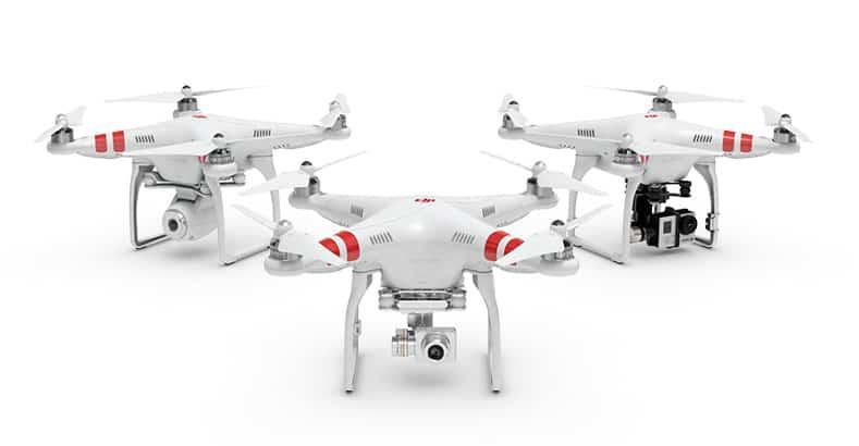 Droni Phantom i quadricotteri più famosi