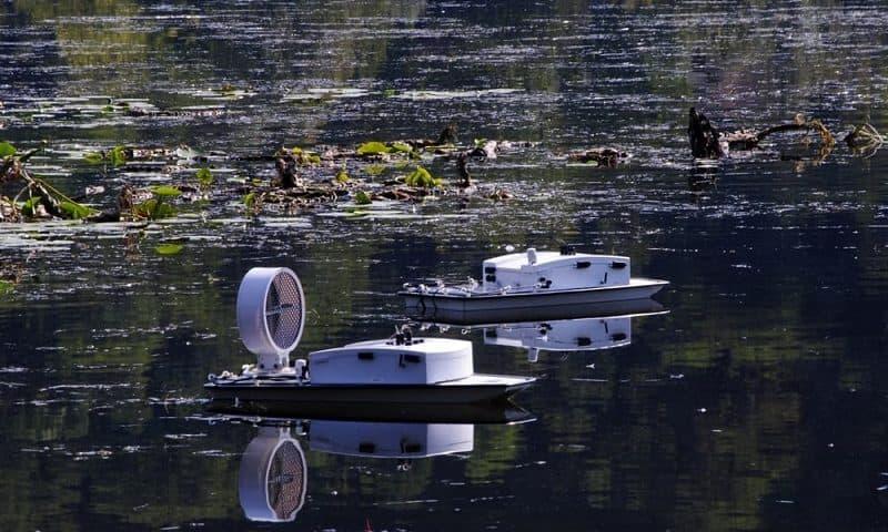 Droni subacquei per il monitoraggio del lago di Fimon