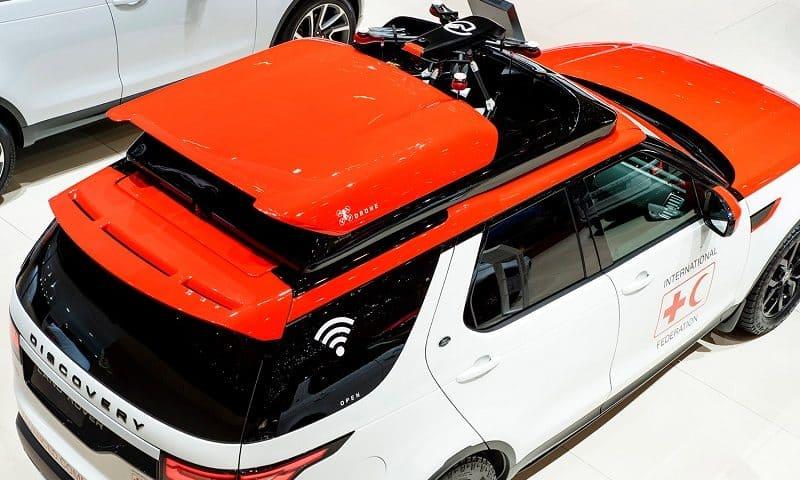 Il drone Land Rover sarà presentato al Salone dell'auto di Parigi