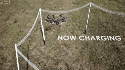 Ricarica senza fili per Droni