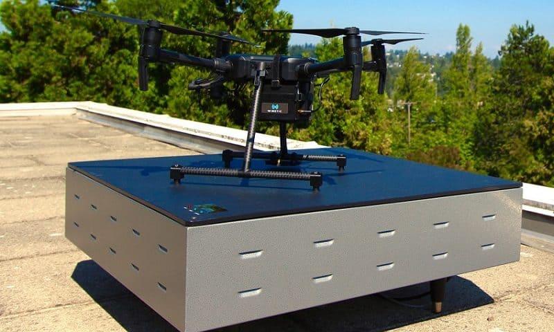 Sistema di ricarica wireless per droni Dji Matrice 200