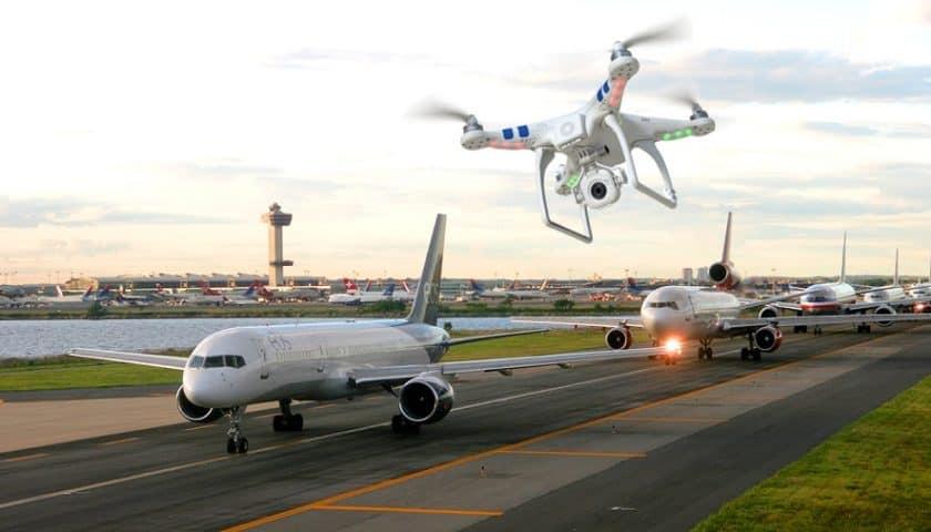 Dji No Fly Zone migliorate le mappe per droni