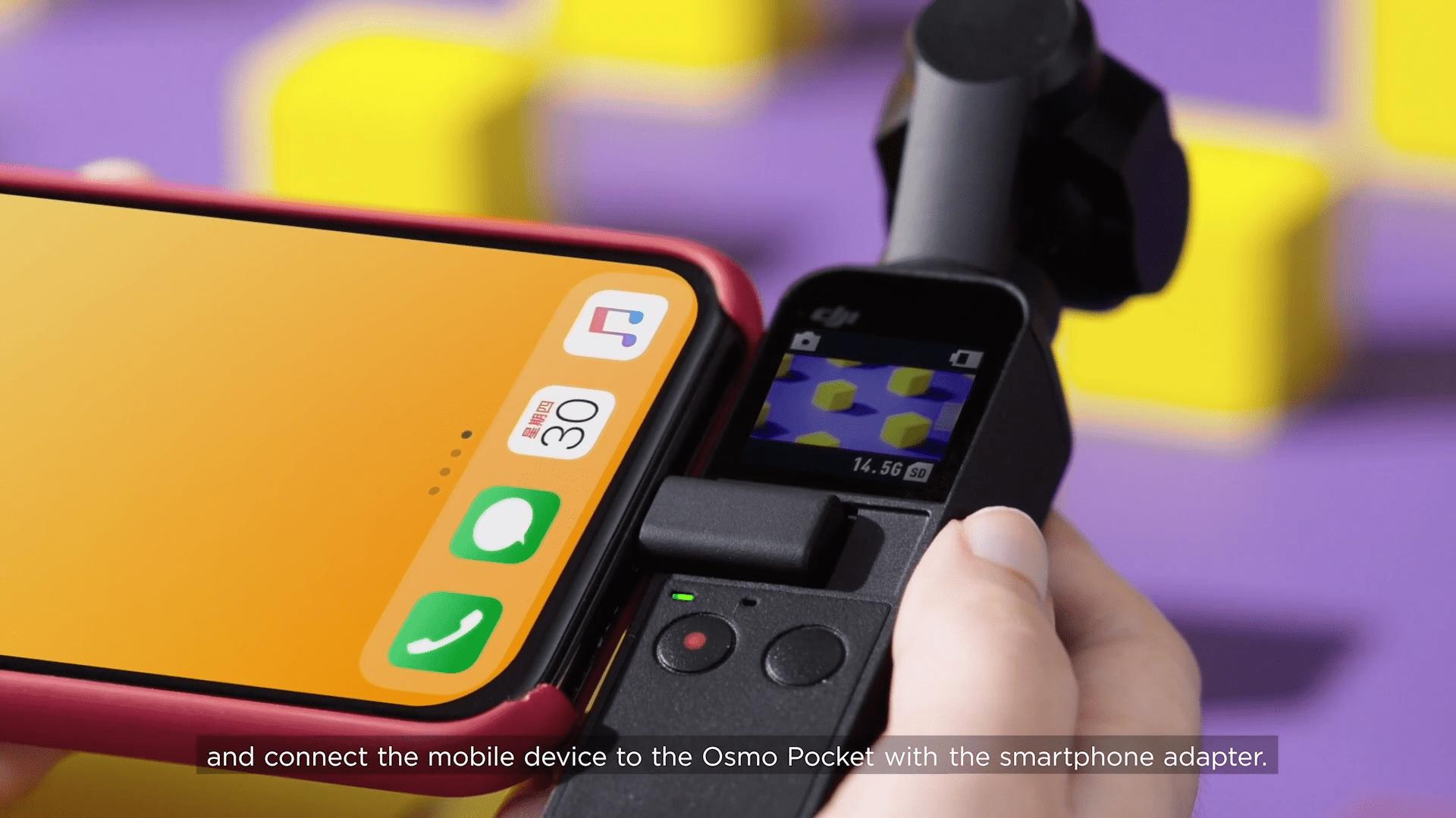 Aggiornamento firmware Dji Osmo Pocket