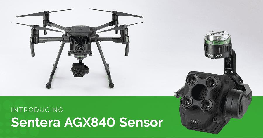 Camera Multispettrale Sentera AGX840 per droni