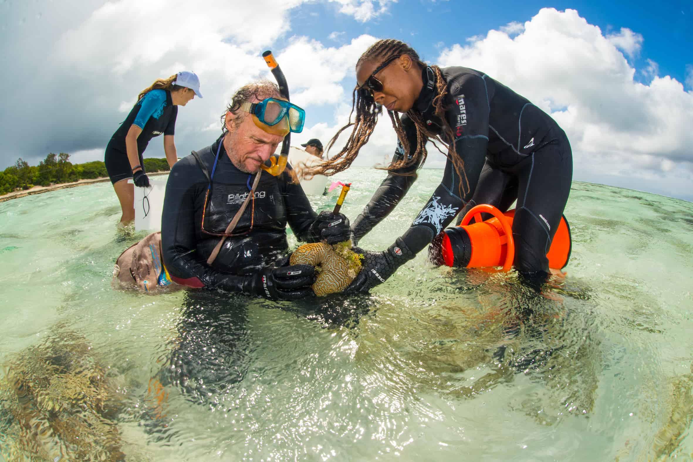 Drone subacqueo per la protezione della barriera corallina
