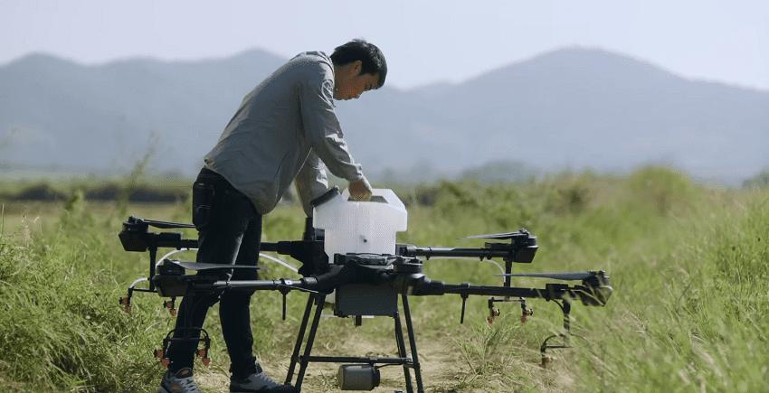 Drone Agricolo Dji T16