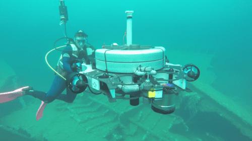 Drone Zeno per archeologia subacquea