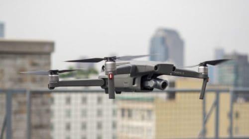 Droni per monitorare strade e ponti di Roma