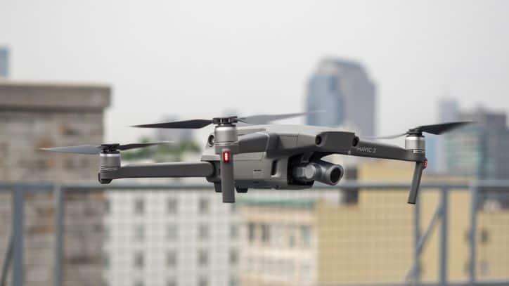 Droni per monitorare strade