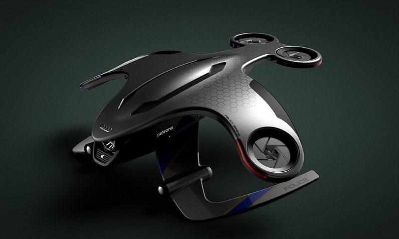 Drone Audi Patrone per le forze dell'ordine
