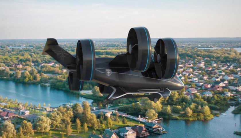 Drone Bell Nexus per il trasporto di persone al CES 2019