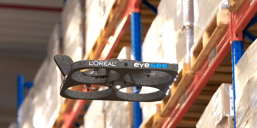 Drone per la logistica di L'Orèal