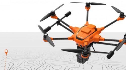 Drone Yuneec H520 RTK per rilievi topografici