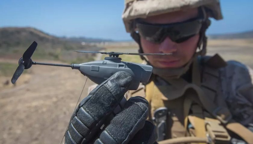 Droni FLir Black Hornet per le Forze Armate Francesi