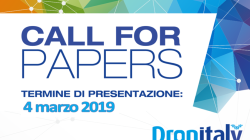 Dronitaly 2019 e i contributi sui droni innovativi