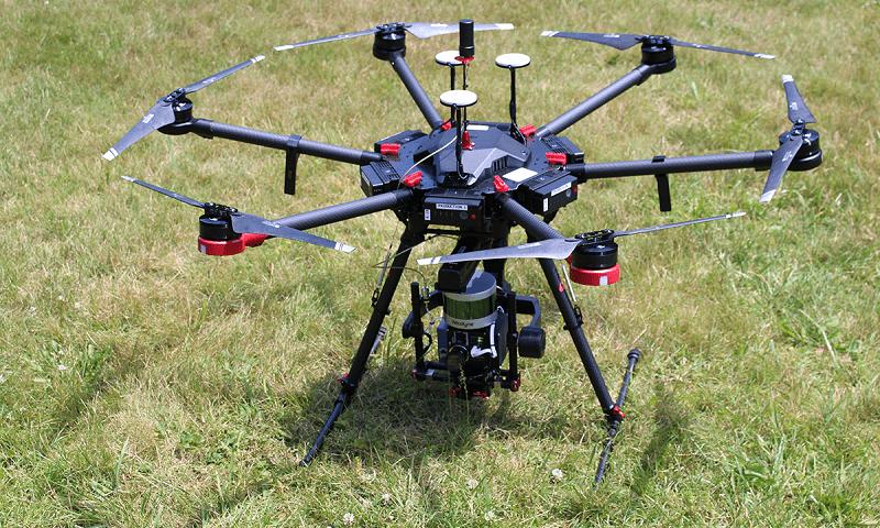 Monitoraggi ambientali con droni in Calabria