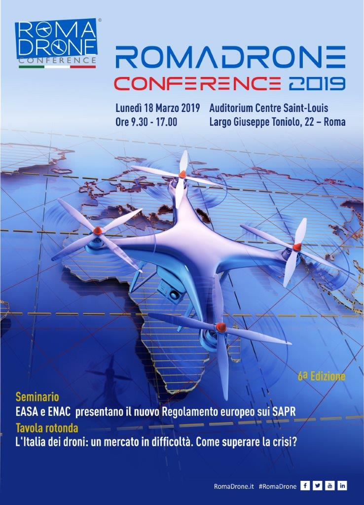 Roma Drone Conference 2019