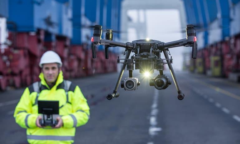 Nuovo drone Dji Matrice 200 V2