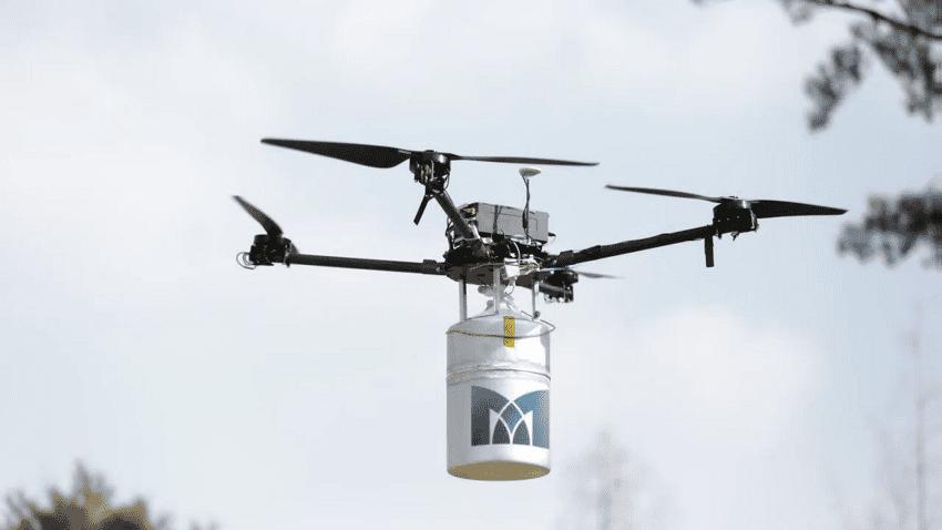 Drone alimentato a idrogeno