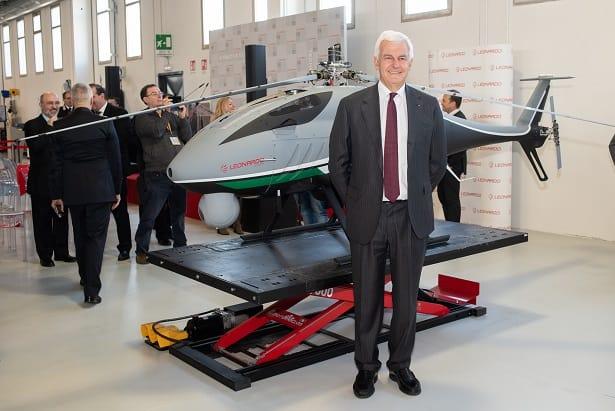 Drone Elicottero AwHero di Leonardo