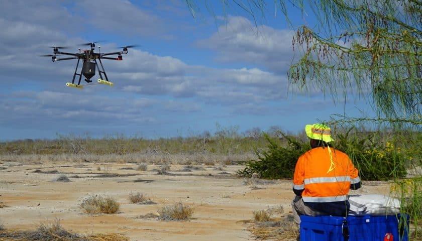 Droni contro i roditori alle Galapagos